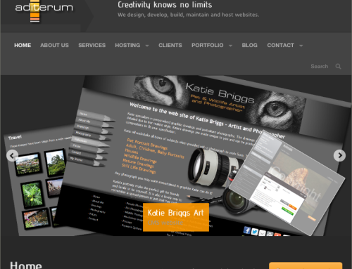 Aditerum site gets a new look